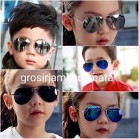 kacamata fashion sunglasses anak pria cowok wanita cewek Aviator