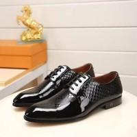 Sepatu Pantofel LV Pria Mirror Quality ] SKV0025