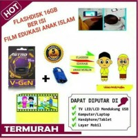 Flashdisk Edukasi Video Anak Muslim 16 GB GRATIS OTG