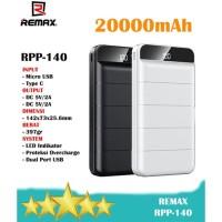 Remax RPP-140 20000mAh Digital Display + 2A Fast Charge Powerbank