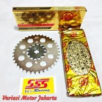 gear set SSS rante Wilwood RX King Jupiter MX 428 15 37 130 HSBT