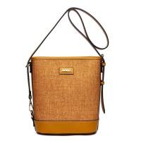 HANA Bucket Tote Bag H049 - Yellow