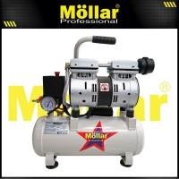 MOLLAR AC1008S Kompresor Udara Tanpa Oli Silent Oilless Air Compressor