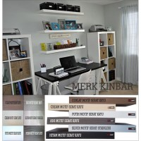 60x15x4cm Rak Dinding/Ambalan/Melayang/Floating Shelf MERK KINBAR