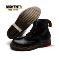 Sepatu Boots Pria Model Docmart Kulit Sapi Asli 1080