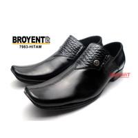 Sepatu Pantofel Pria Kulit Sapi Asli 7983