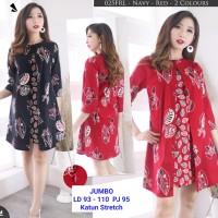 Dress Batik Wanita / Dress Babydoll Batik