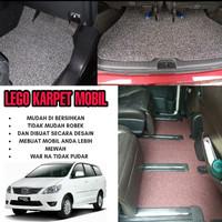 Karpet Mobil Mie Bihun 1 Warna TOYOTA INNOVA Full Bagasi