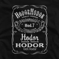 Kaos Game Of Thrones Hodor Jack Daniels