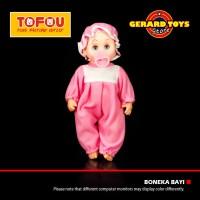 ⭐⭐⭐⭐⭐ Mainan Boneka Bayi Nangis Susan Topi Pink BAGUS MURAH