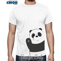 Kaos We Bare Bears - Panda Hello - By Crion