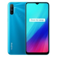 Realme C3 Smartphone - 3/32GB - Garansi Resmi - Blue