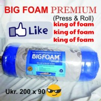 kasur busa big foam 90x200x14cm garansi 15 thn