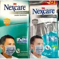 masker 3M Nexcare masker kesehatan carbon per box