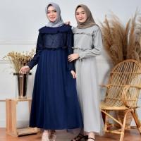 cod/Gamis/nura maxi/gamis modern/baju gamis syari/gamis murah