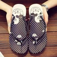 Sandal sendal wanita jepit flip flop bear sgc 36