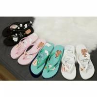 Sandal sendal wanita jepit flip flop jelly sgc 32