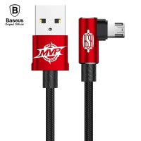BASEUS Kabel Data Gaming MVP 1M Micro USB 2A 1M 100CM Mobile Game Ori