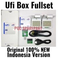 NEW UFi Box Indonesia Version - 100% Original Fullset IC EMMC Tools -