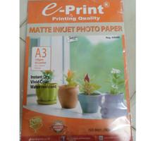 Eprint Photo Paper Matte Inkjet A3 130gsm