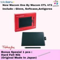 Wacom One Small Ctl-472 Pen Tablet Wacom Ekonomis Garansi Resmi - Unit