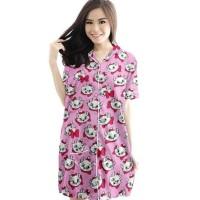 Storekoko Baju Tidur Piyama/Pajamas Daster Murah - Marie Cat Tosca