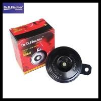 Klakson Dr.D. Fischer Single Disk Sepeda Motor Plus Kabel Set Relay