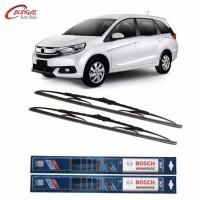 "Wiper Mobil Bosch Advantage Sepasang Honda Mobilio Ukuran 22""&16"""