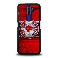 Custom Casing Hardcase Oppo A5 2020 Boston Red Sox Grunge Baseball Clu