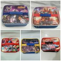 Tas bekal anak karakter #kotak makan #lunch bag tayo tsum kotak foil