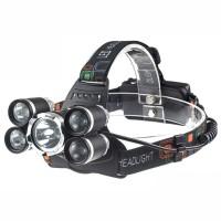 TaffLED Headlamp Cree XM-L 1T6+4XPE 16000 Lumens