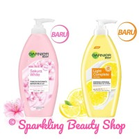 Garnier Sakura White & Light Complete Whitening Serum Milk UV Body