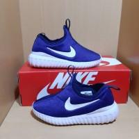 Sepatu Anak Nike Slip On Navy White 31-35