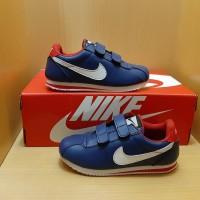 Sepatu Anak Nike Cortez Navy White 26-30