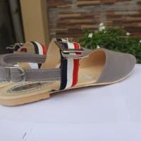 LIMITED DISKON Thebellio-Sepatu Flats Shoes Jovina Strip Termurah