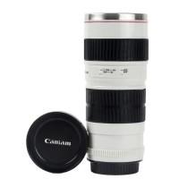 Tumbler / Mug / Gelas Kopi Mirip Lensa Canon EF 70- 200mm Black Box