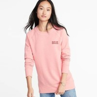 Sweater Wanita - Old Navy Relaxed Women Graphic Crew Neck - PART 2