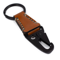 Gantungan Kunci Kulit Keychain Leather Carabiner Keyholder GK-02