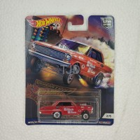 HOTWHEELS CAR CULTURE DRAG STRIP DEMONS 63 CHEVY NOVA