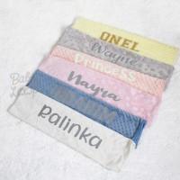 Thin Minky Blanket Custom Name - Baby Loop - BabyLoop