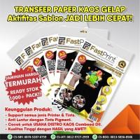 Fast Print Transfer Paper Kaos Gelap A3 Taiwan