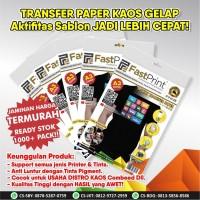 Fast Print Transfer Paper Kaos Gelap A3 China