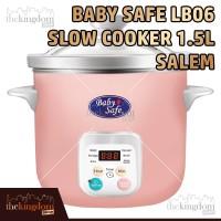 Baby Safe LB06D Slow Cooker Pink Salem Tempat Memasak Makanan Bayi