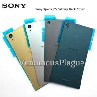 Backdoor Back Casing Tutup Baterai SONY XPERIA Z5 Big - Z5 Dual Kaca