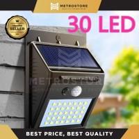 Lampu Taman Dinding 30 LED Tenaga Surya Lampu Solar Cell Wlall Light N