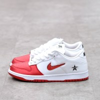 Supreme X Nike SB Dunk Low Red 100% Authentic