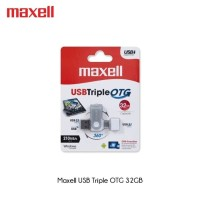 Flashdisk Maxell Triple OTG 32GB Type C