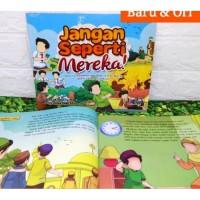 Buku Anak Jangan Seperti Mereka - Perisai Quran Kids