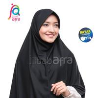 Jilbab Afra Beria Arfa Asli Kerudung Instan Hijab Kaos Pet Bergo Hitam