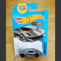 Diecast Hot Wheels Lamborghini Sesto Elemento Grey Need For Speed 2014